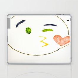 Kiss Emoji Laptop & iPad Skin