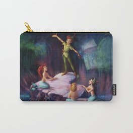 The Mermaid Lagoon-Peter Pan Carry-All Pouch