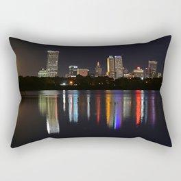 Tulsa Moonrise Rectangular Pillow
