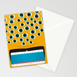 It's a Orange Mosnter! Stationery Cards