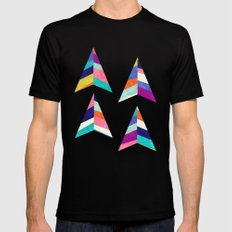 Upward Mens Fitted Tee Black SMALL