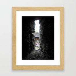 Slide. Framed Art Print
