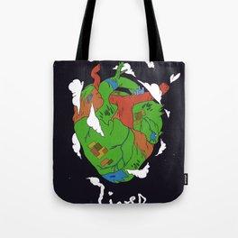 Earth Heart Tote Bag