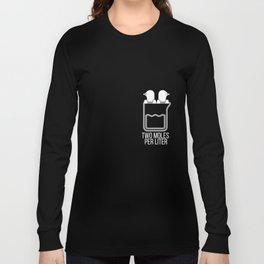Chemistry Pun Tshirts - Funny Two Moles Per Liter Tee Long Sleeve T-shirt