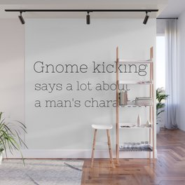 Gnome kicking - GG Collection Wall Mural