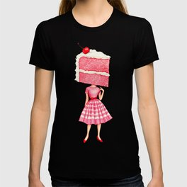 Cake Head Pin-Up - Cherry T-shirt