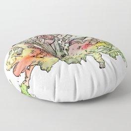 Cosmic Migraine Floor Pillow