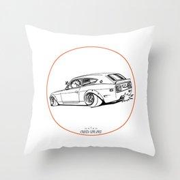 Crazy Car Art 0225 Throw Pillow