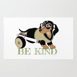 Ricky Bobby #3: Be Kind Rug