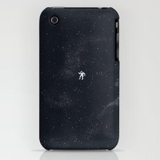 Gravity - Dark Blue iPhone (3g, 3gs) Slim Case