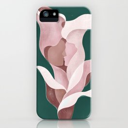 Arum-lily day iPhone Case