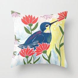 Abundant Nature Throw Pillow
