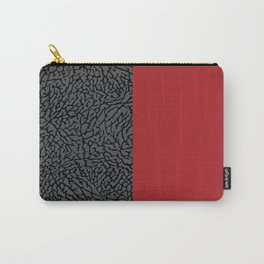 Elephant Print Carry-All Pouch