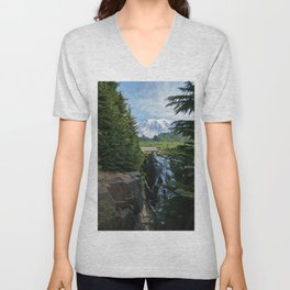 View from Paradise Unisex V-Neck