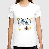 spongebob T-shirts featuring Spongebob Crazy Face by Cute Cute Cute