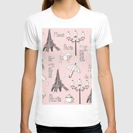 Paris Girl - Pink T-shirt