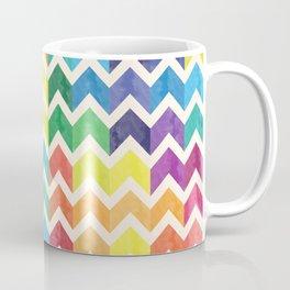 Watercolor Chevron Pattern IV Coffee Mug