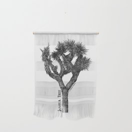 Joshua Tree Burns Canyon by CREYES Wall Hanging
