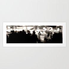 moroccan night Art Print