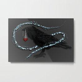 Mr Raven v1.0 Metal Print