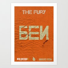 The Cobra Unit - The Fury Art Print