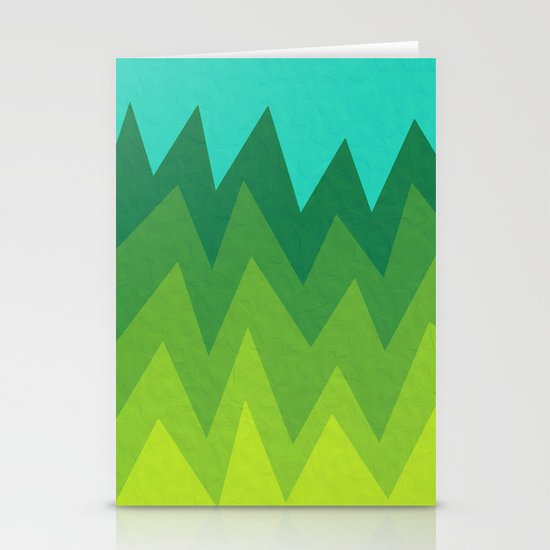 Green Summer Forest by alisagal