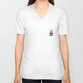 Hooray! Unisex V-Neck