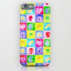 Rainbow Charms iPhone 6s Slim Case