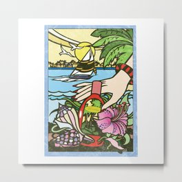 The Island Metal Print