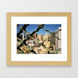 bigcity. Framed Art Print