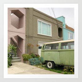 Daly City for days Art Print