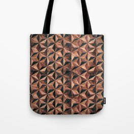Copper pyramids Tote Bag