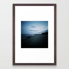 vanishing summer Framed Art Print
