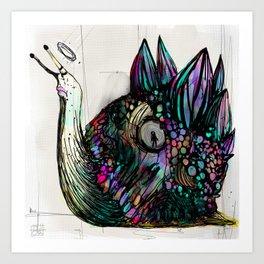 Caracolo elegante Art Print