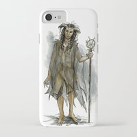 tina fey iPhone & iPod Cases featuring death fey by laya rose