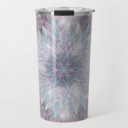 Lavender swirl pattern Travel Mug