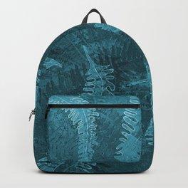 Ferns (light) abstract design Backpack