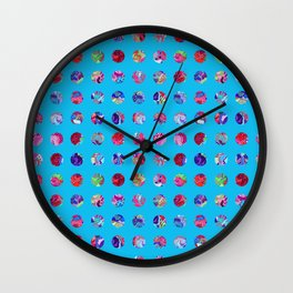 Wallflower Concentric Wall Clock
