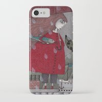freud iPhone & iPod Cases featuring At the Harbor by Judith Clay