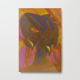 Gele. Metal Print