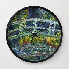 Monet Interpretation Wall Clock