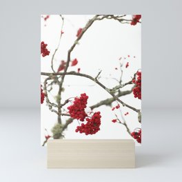 Wintry Day - Winter Scene Mini Art Print