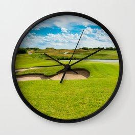 golf course Wall Clock