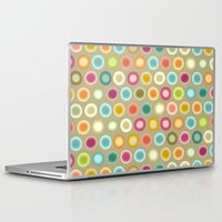 buffy Laptop & iPad Skins featuring polka buffy by Sharon Turner