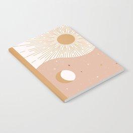 Yin Yang Blush - Sun & Moon Notebook