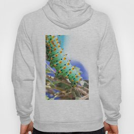 Black Moth Caterpillar Hoody