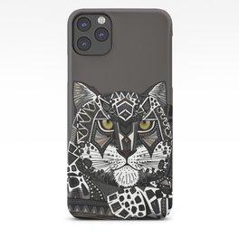 snow leopard lead iPhone Case