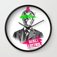 Reject Control Wall Clock