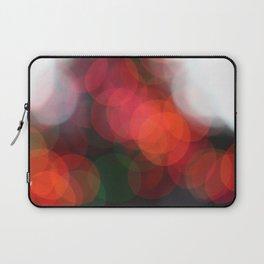 Christmas Lights Bokah  Laptop Sleeve