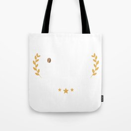 Cute & Funny Certified Coffee Lover Coffee Addict Tote Bag